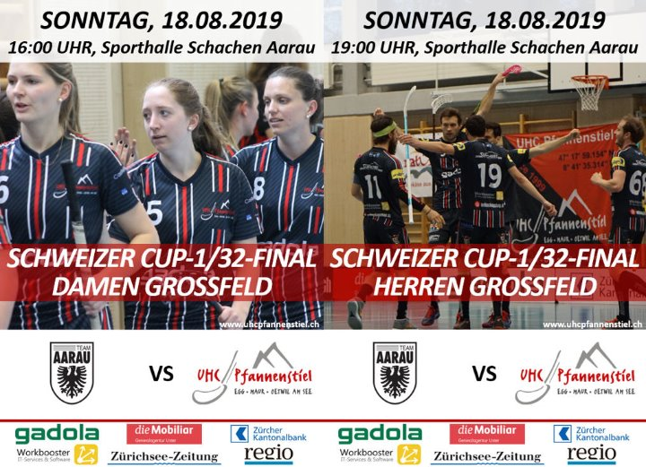 Cup-1/32-Finals im Doppelpack – Alle Fans ab nach Aarau